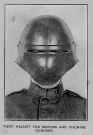 CWM 059 - WWI - German - Sniper's Face Mask (top right ...